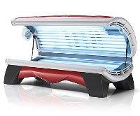 Solarium Proline 281 Combi Lounge Red Hapro - Solarium Proline 28/1 Combi Lounge Red Hapro