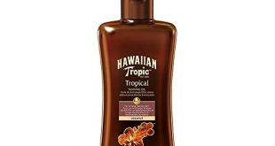 Hawaiian Tropic Tropical Tanning Oil LSF 0 200ml 1er Pack 310x165 - Hawaiian Tropic Tropical Tanning Oil LSF 0, 200ml, 1er Pack (1 x 200 ml)